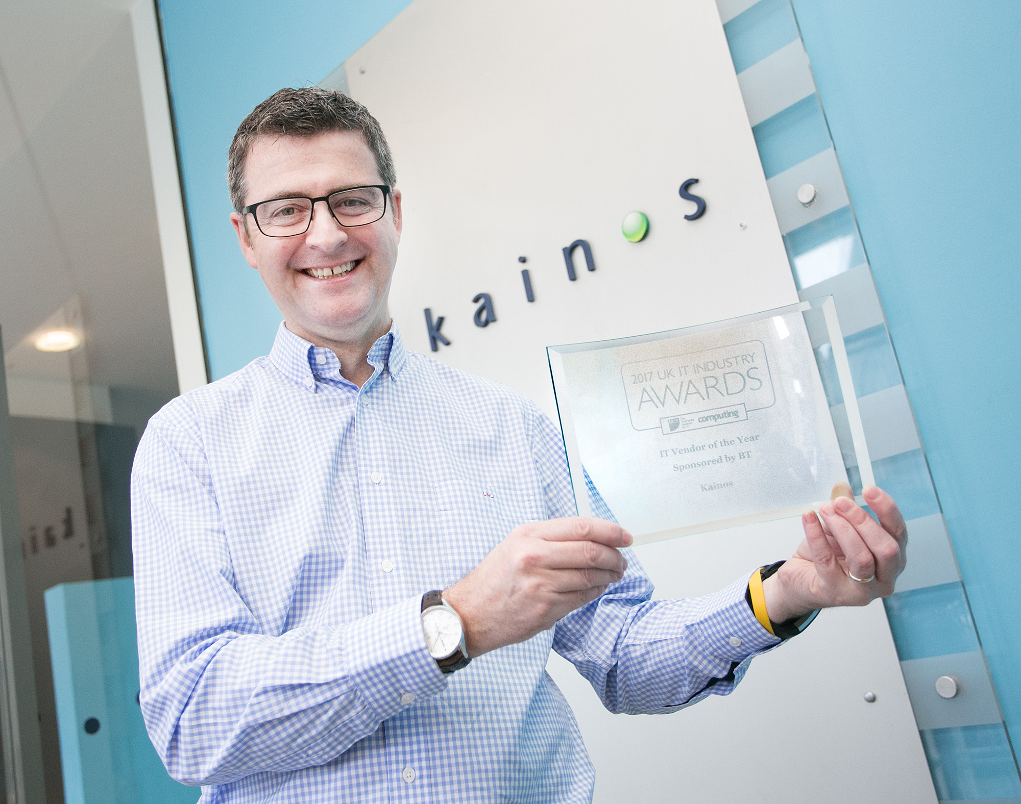 Kainos named UK's 'Vendor of the Year' at top industry awards