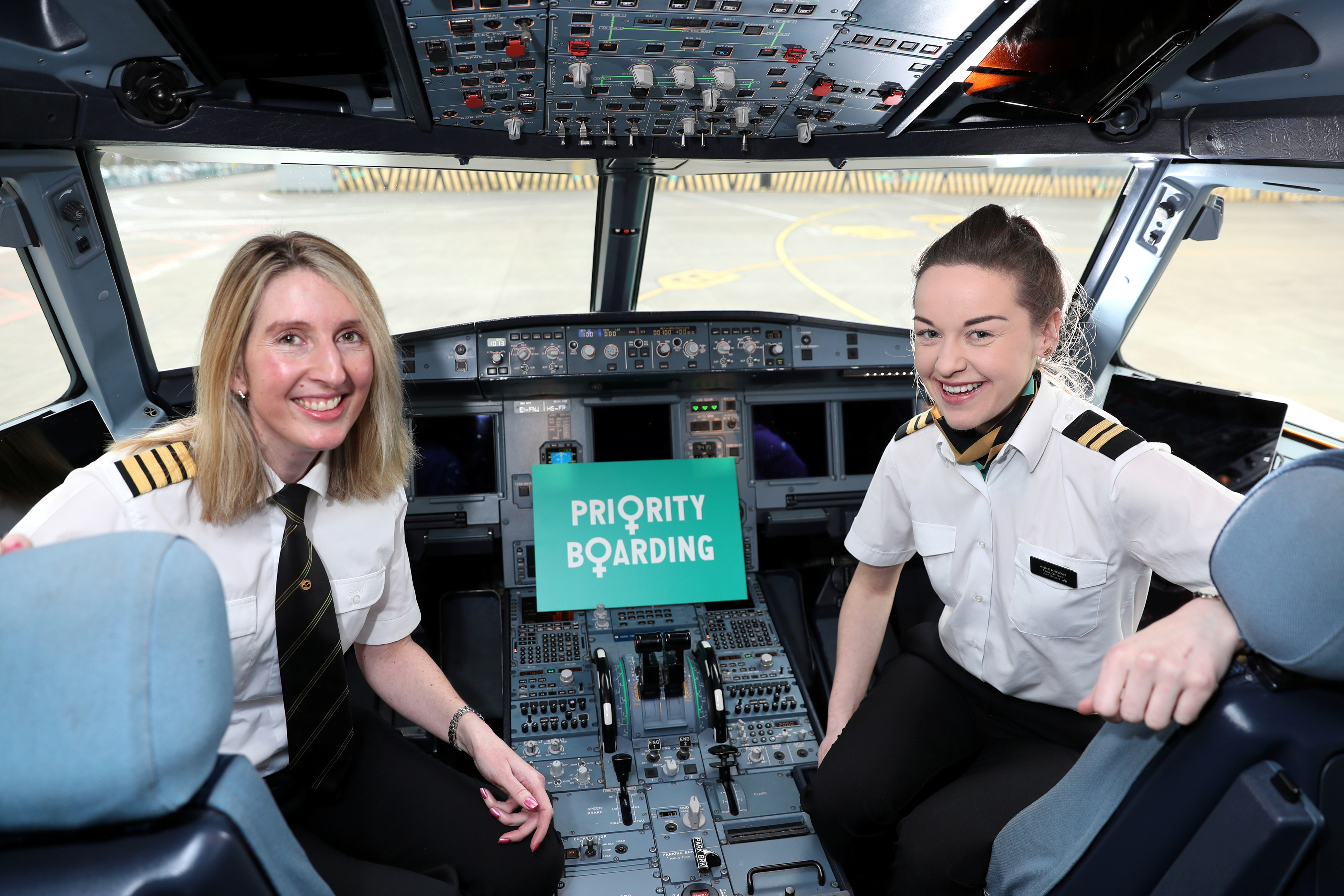 Aer Lingus 'gets on board' with International Women Day!