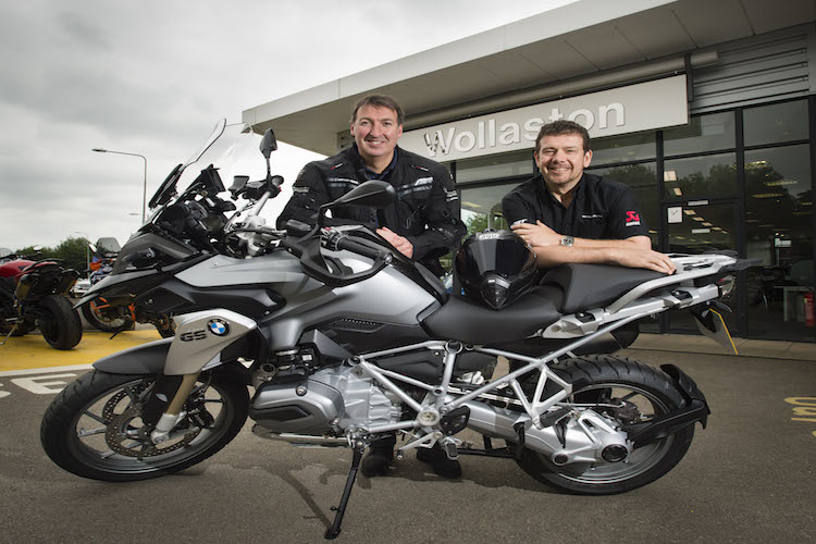 Motorcycle specialist takes to the road with new bike