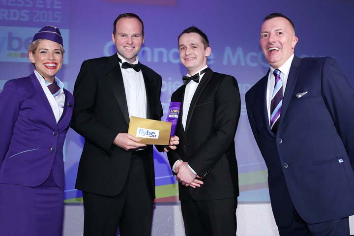 Co. Down entrepreneur named NI's Young Business Personality of the Year