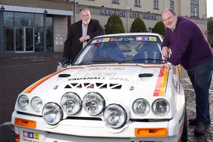Irish rally legend 'King Fisher' to be celebrated in new book