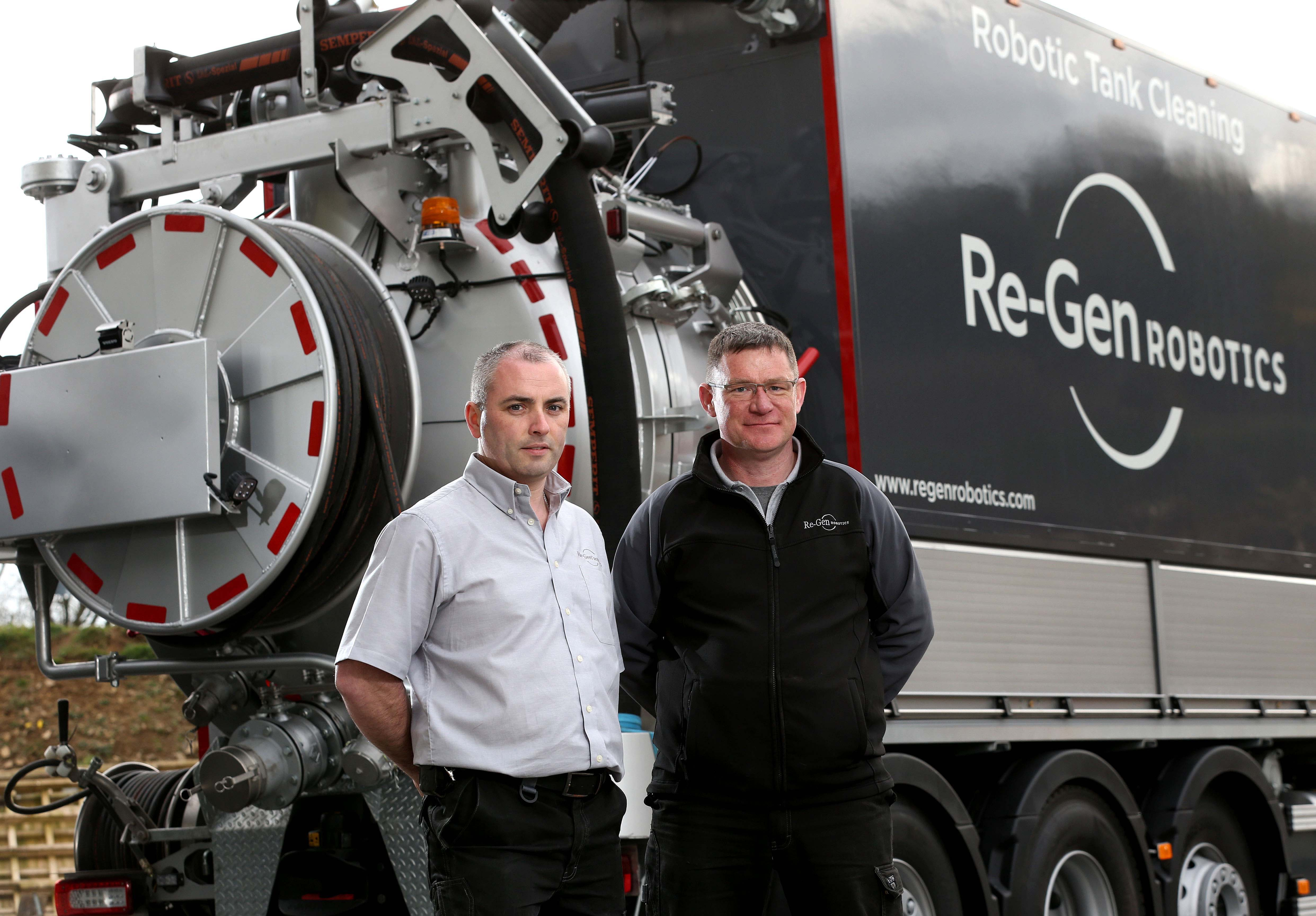 Re-Gen Robotics invests a further £1m in next-gen cleaning robot and tanker