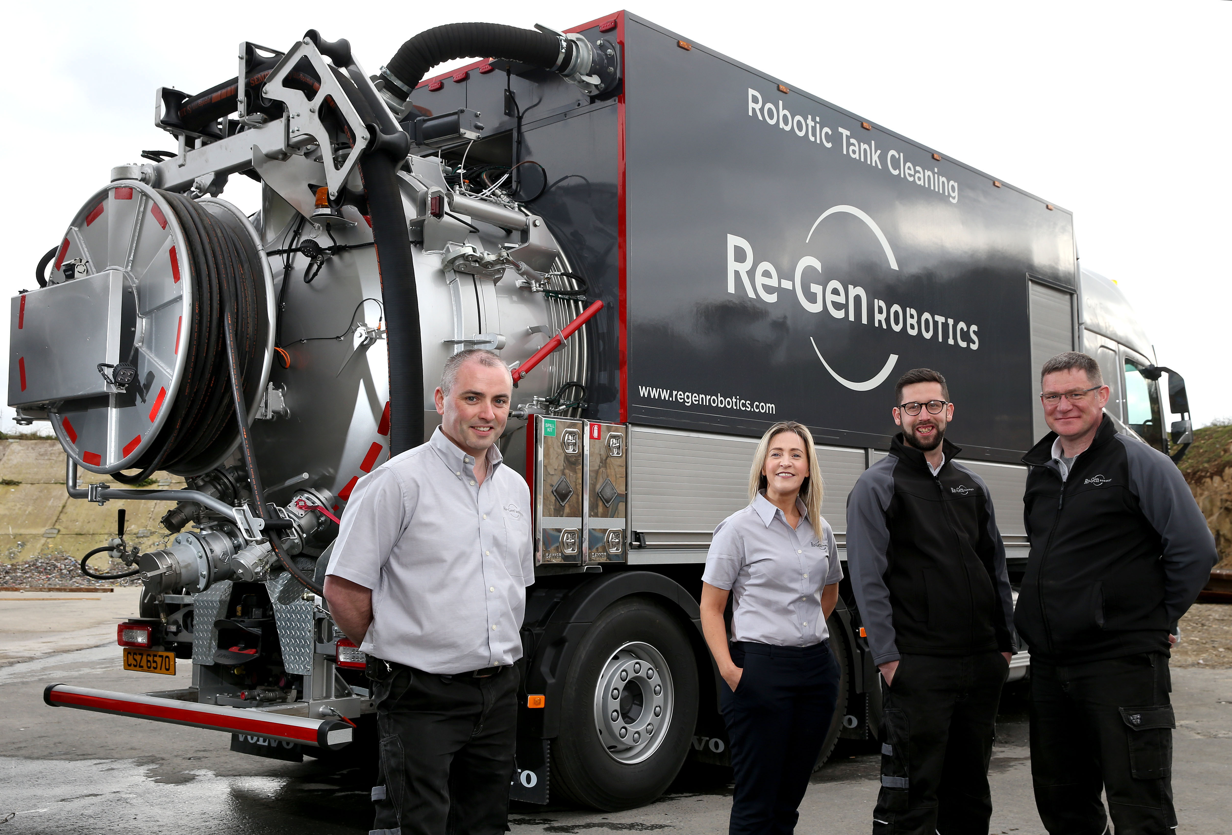 Re-Gen Robotics invests £1.5m in life-saving cleaning robots
