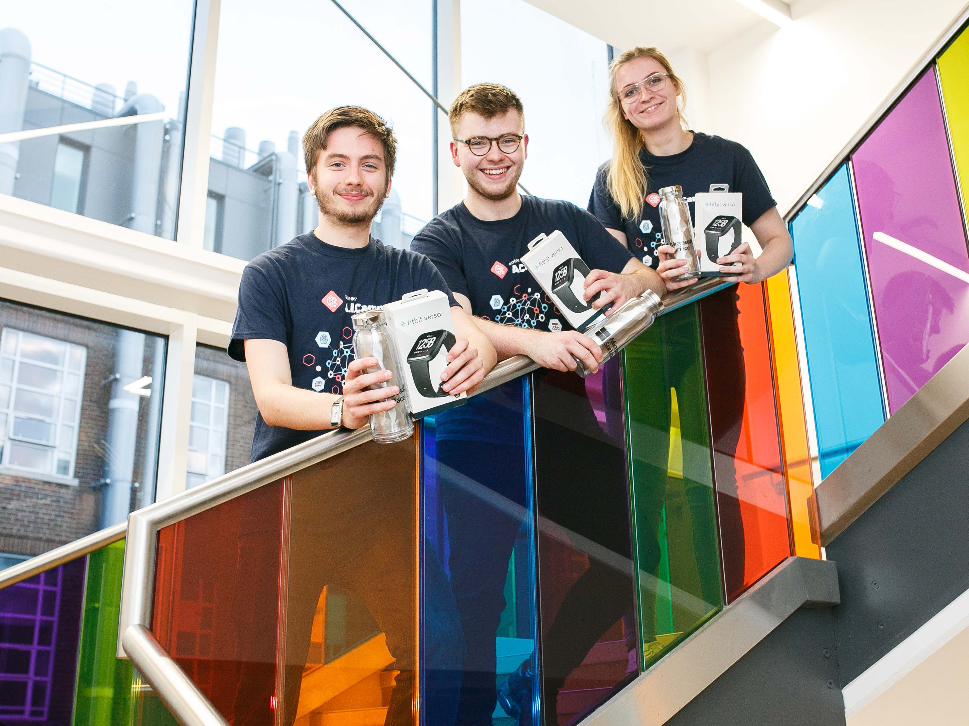 Hackathon winners among elite group to complete Kainos A.I.Camp