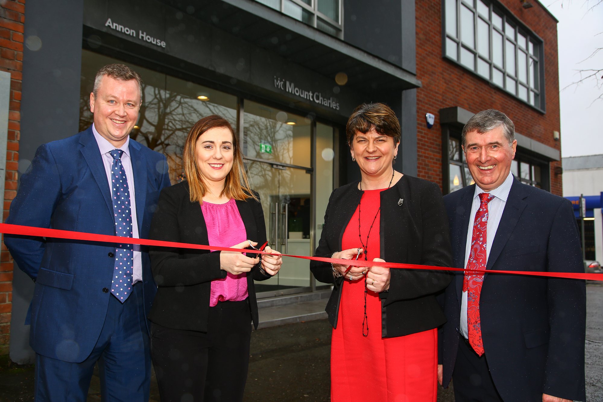 Opening of £1.6m HQ signals new era for Mount Charles