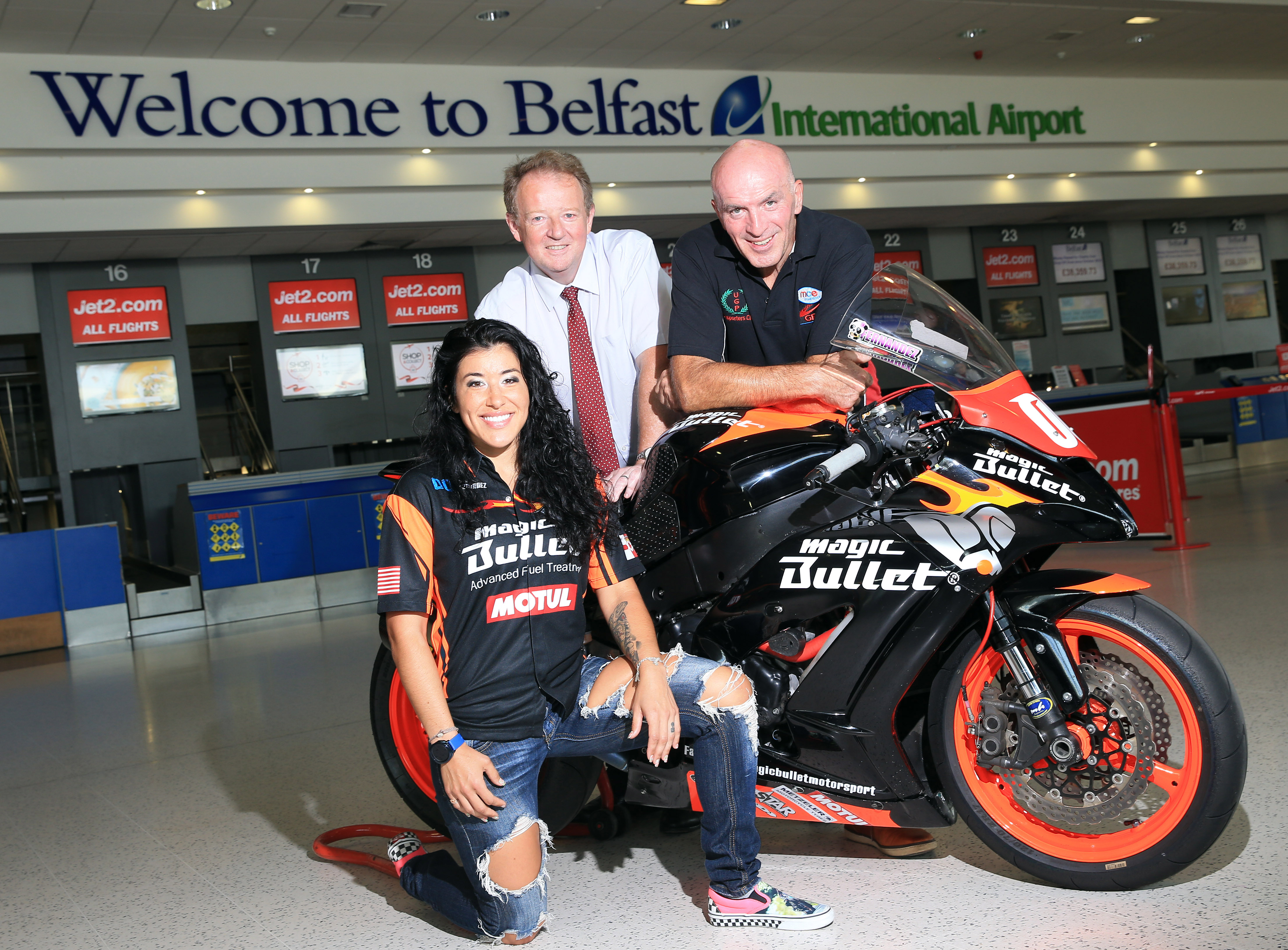 Fernandez on form to smash record as Dundrod's fastest female
