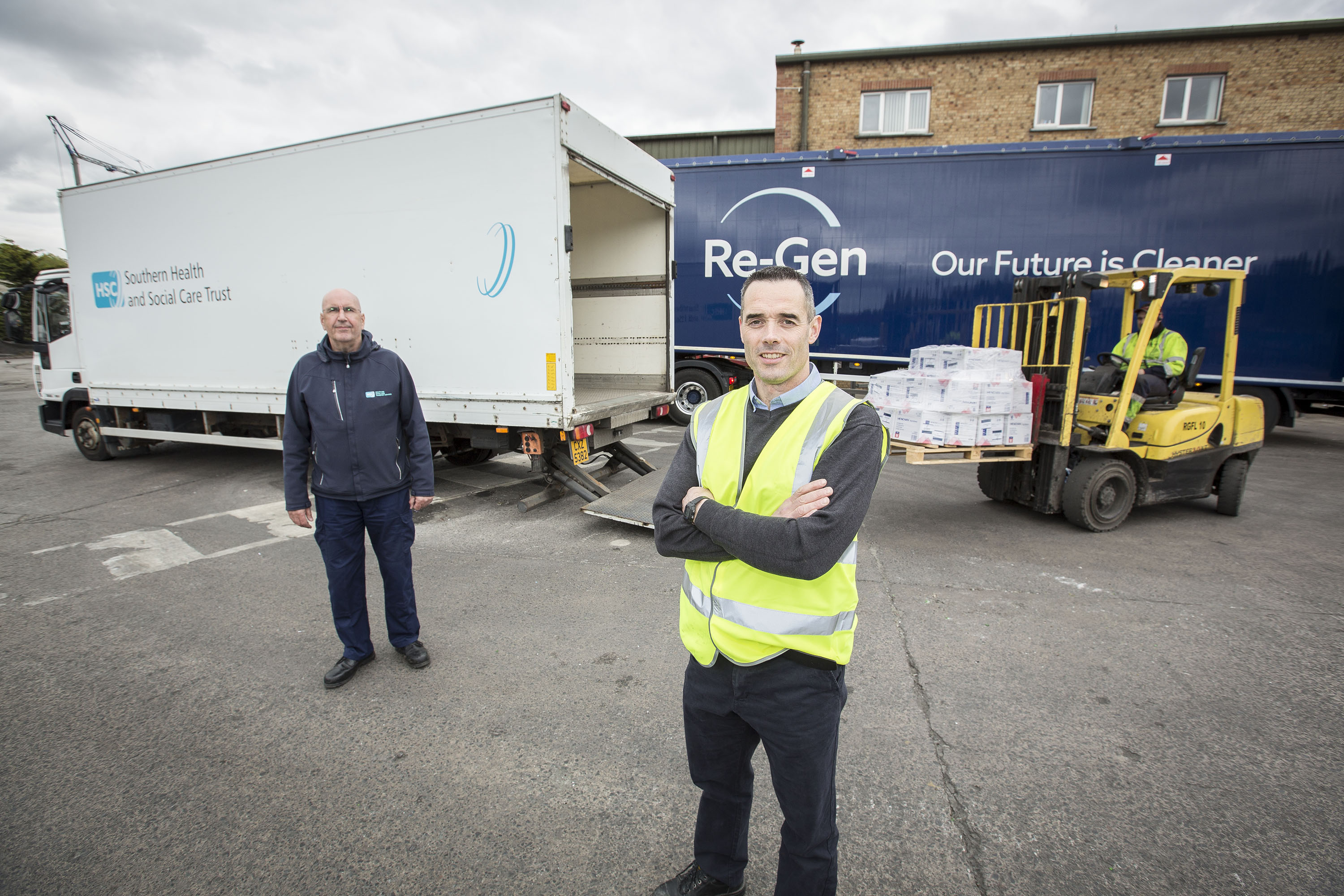 Re-Gen Waste Donates £60k of PPE to protect local hospital staff