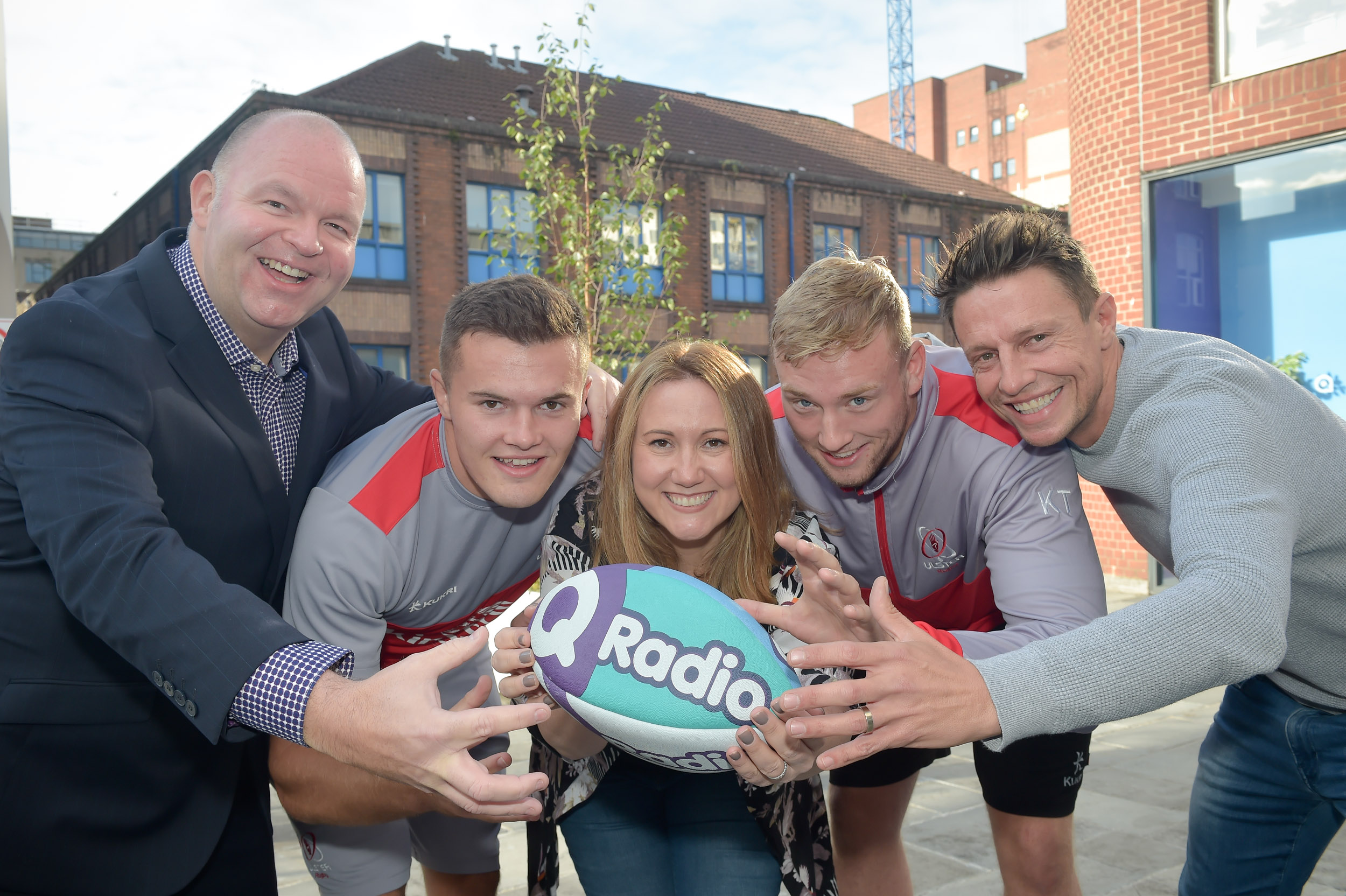 Q Radio lineout with Ulster Rugby to announce official broadcast partnership