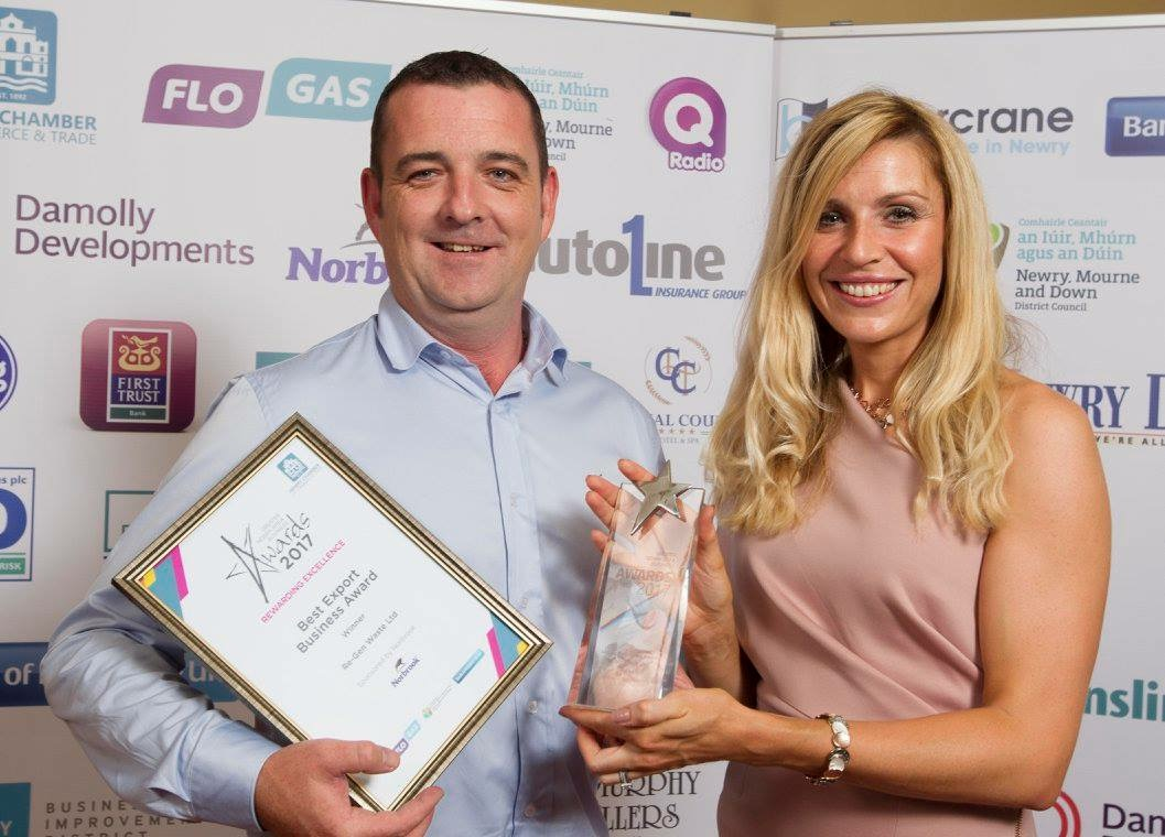 Re-Gen Waste Ltd scoops Best Export Business Award