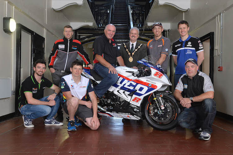Hutchinson lays down the gauntlet at the launch of the 2015 Metzeler Ulster Grand Prix