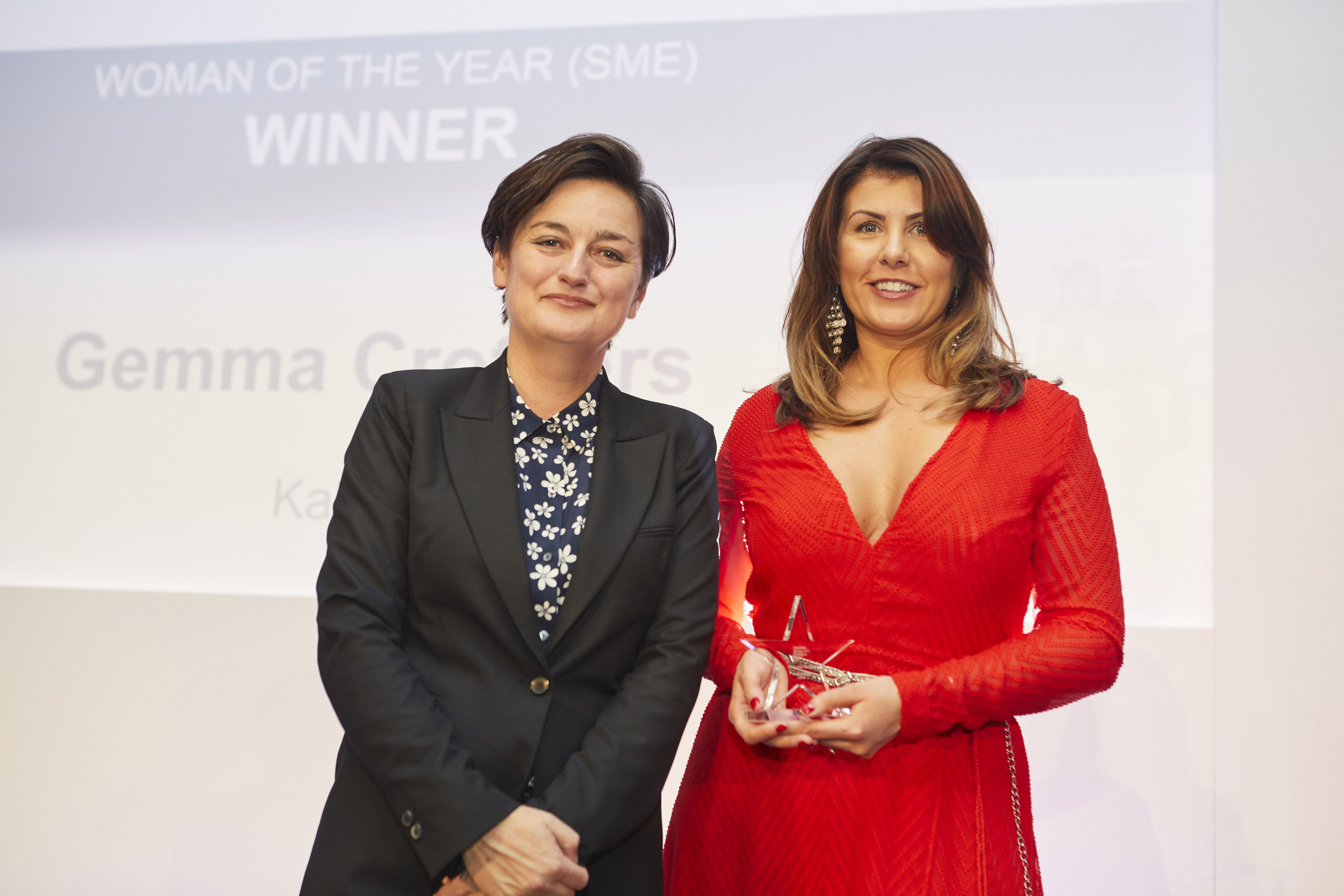 Kainos Tech Outreach Manager scoops UK 'Woman of the Year' title at IT Excellence Awards